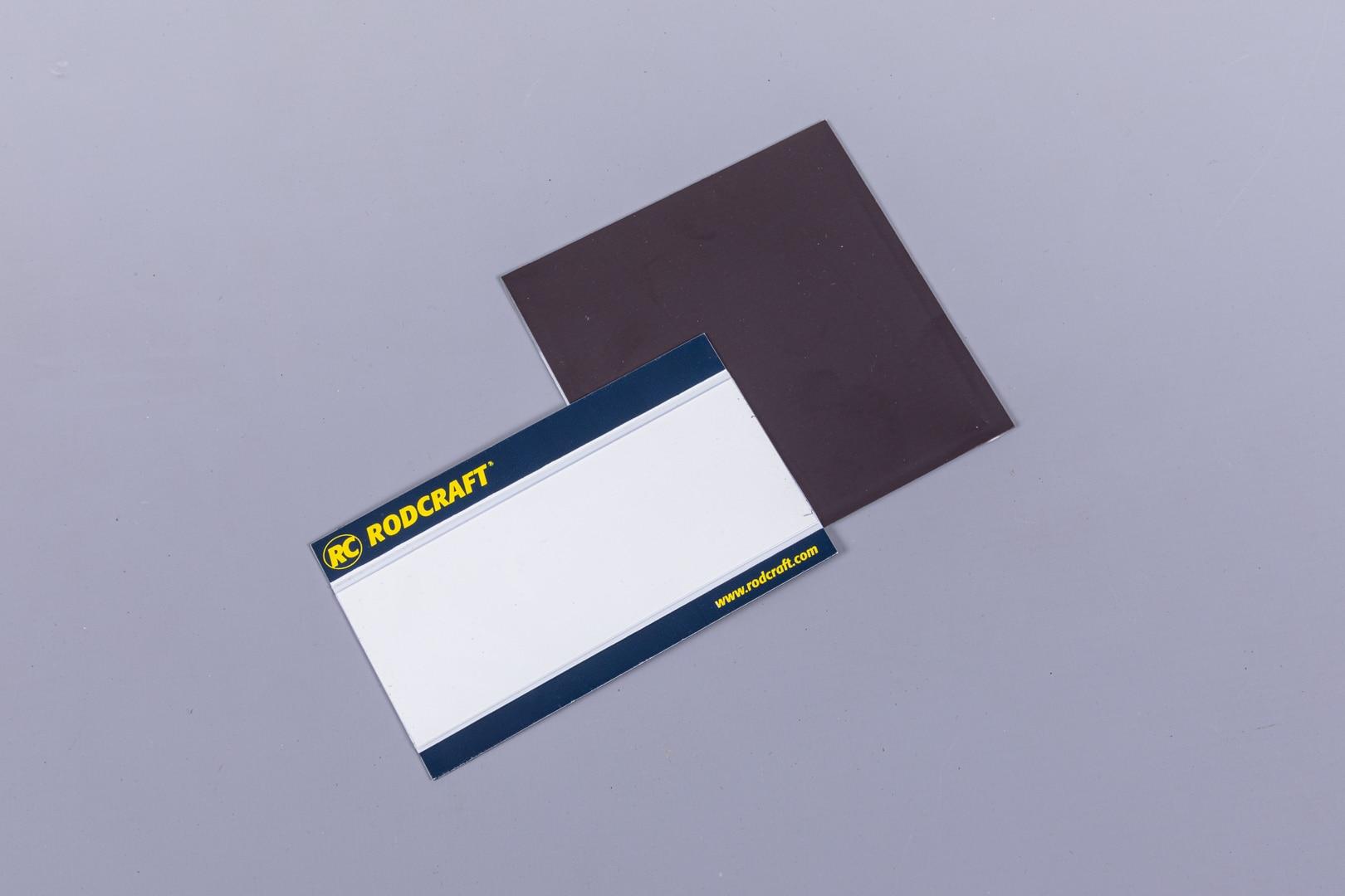 pochettes adhésives signalétique